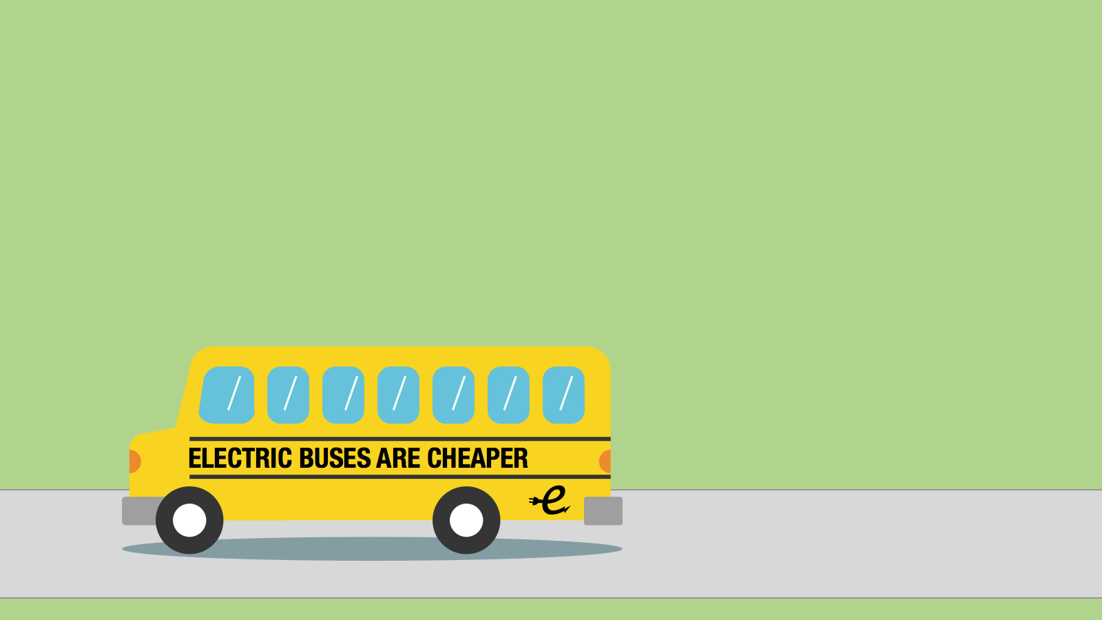 <h3>BENEFITS OF ELECTRIC BUSES</h3><p>Our research found that an electric school bus can save school districts nearly $2,000 a year in fuel costs.</p>