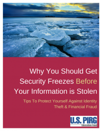 freeze report cover